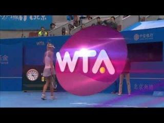 Maria Sharapova vs Svetlana Kuznetsova QF Beijing 2014 WTA