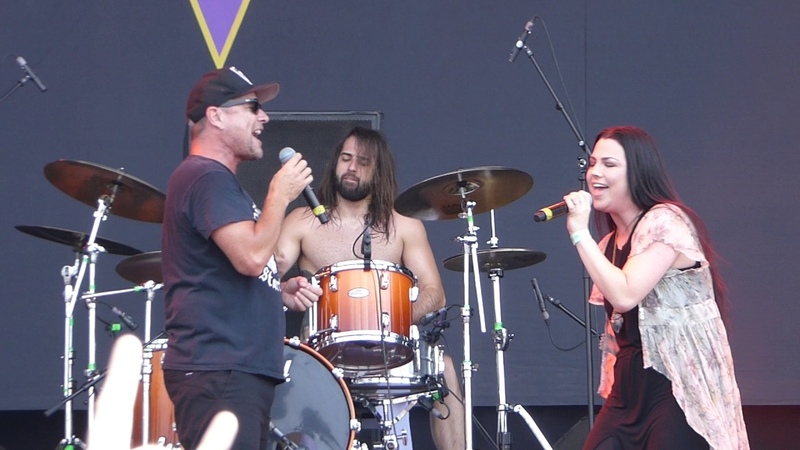 Ugly Kid Joe Amy Lee (Evanescence) Cats In The Cradle @ Graspop 2017 Dessel 18-06-2017