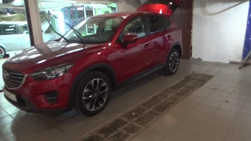 Сабвуфер стелс для Mazda CX5, установка автозвука в Мазду