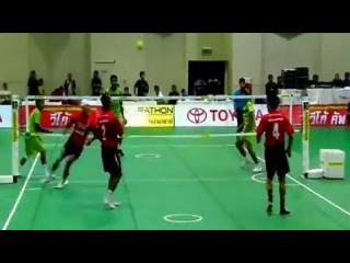 Смесь футбола, волейбола и кунг-фу. Смотреть онлайн - Видео - bigmir)net
