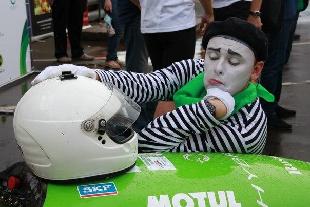 Публичные мероприятия команды Формула Гибрид МАДИ 2013.