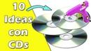 10 Ideas hechas con CDs Reciclaje Ecobrisa