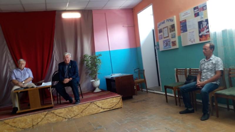 Собрание жителей по вопросу сноса деревень Мясищево и Федяйково