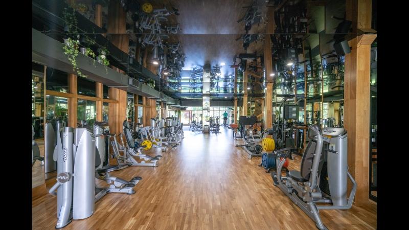 Обновленный Тренажерный Зал Sport Palace