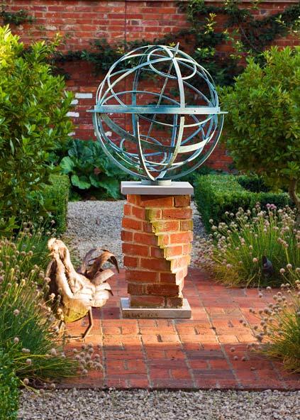 Садовый декор (4 фото) - картинка