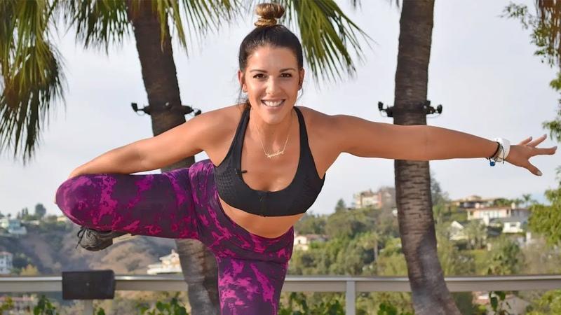Жиросжигающая кардио тренировка для похудения - Без снаряжения. Lose Weight - Fat Melting Cardio Workout - No Equipment Beginner