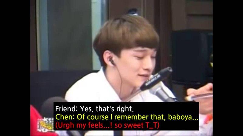 130713 EXO Chen @ Younha Starry Night Radio