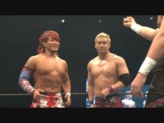 Хироши Танахаши и Казучика Окада vs. Джей Уайт и Бэд Лак Фале