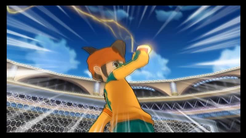 Inazuma Japan VS Paladin Sword
