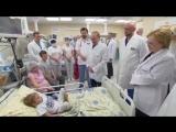 Посещение Морозовской детской больницы