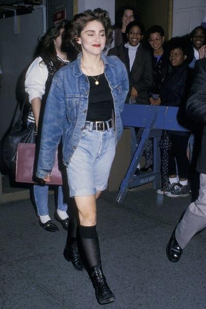 Подборка фотографий поп-дивы Мадонны. 1980-е