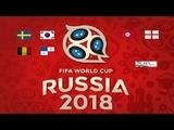 Studio Russia 2018 Preview of Sweden v South Korea Belgium v Panama Tunisia v England