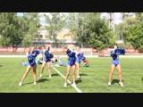 Черлидинг команды ECLIPSE - День Военно воздушного флота(кусочек выступления)