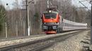 Электровоз ЭП20-054 с поездом № 013 Москва - Берлин