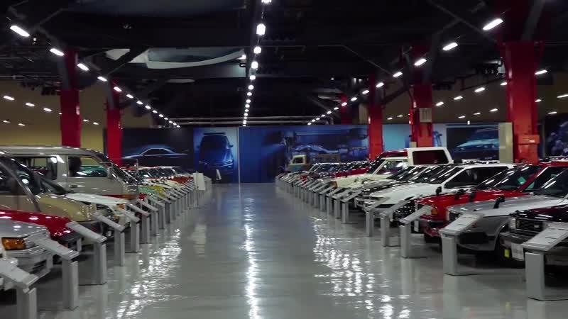 Dreamroad_ Япония 9. Шоурум Nissan, ателье Nismo, Японская Смотра Daikoku [4K]