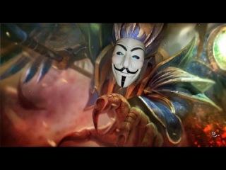 Faceless Void+Skywrath Mage=IZI KILL