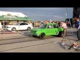 Заз 968 Халк против Mersedes Benz C63 AMG. Драг рейсинг и гонки на машинах.