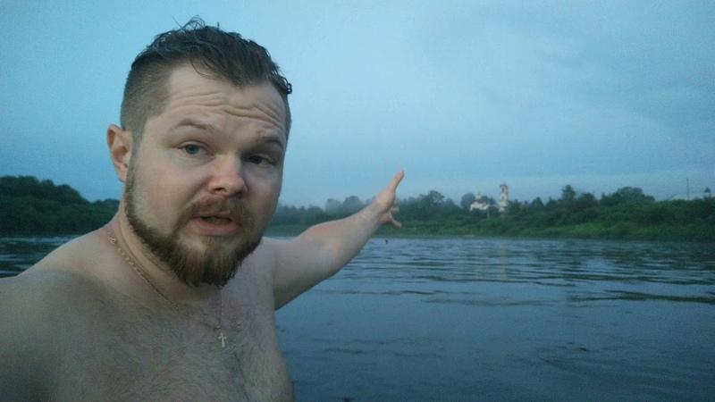 Кобыльск Купание на реке Юг