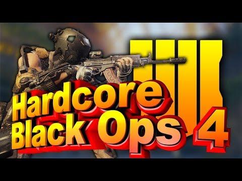 Пробую хардкор в Call of Duty Black Ops 4