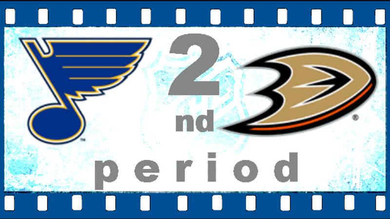 МАТЧ НОМЕР 769. 23 ЯНВАРЯ 2019. St. Louis Blues - Anaheim Ducks