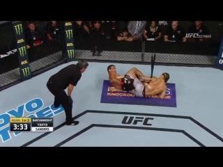 #UFCLincoln Result: Rani Yahya def. Luke Sanders via Submission (Heel Hook) R1, 1:31
