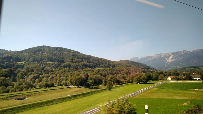 Австрия. Штирия. Альпы