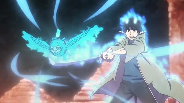 Синий Экзорцист Ao no Exorcist 2 сезон 11 серия