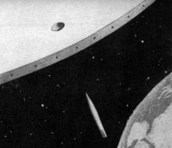 гигантское зеркало - звезда смерти нацистской Германии