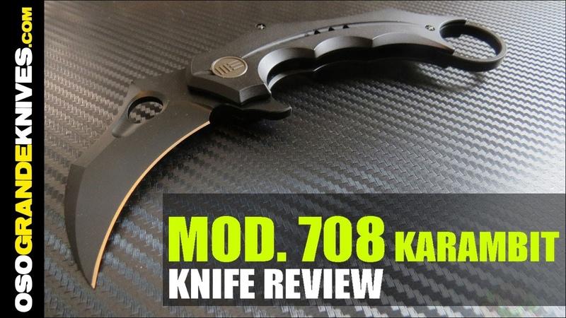 We Knife Company Model 708 Karambit Knife Review OsoGrandeKnives