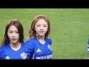 160720 Ulsan Hyundai vs. Incheon United OH MY GIRL - LIAR LIAR JinE fancam