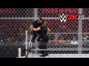 WWE 2K15 Replay Dean Ambrose vs. Seth Rollins — WWE Hell in a Cell 2014 Simulation
