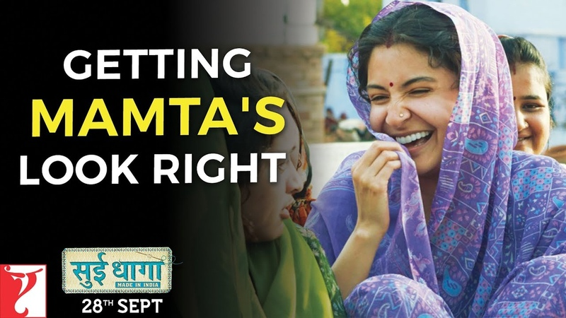 Getting Mamtas Look Right | Sui Dhaaga - Made in India | Anushka Sharma | Varun Dhawan