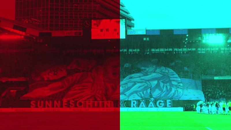 FCB-FC Zürich: UNFASSBARE 3D-CHOREO - 09.12.2018