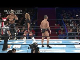 Tetsuya Naito, SANADA, BUSHI vs. Minoru Suzuki, Zack Sabre Jr., TAKA Michinoku (NJPW - New Japan Cup 2018 - Day 2)