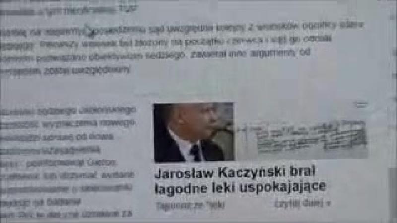 Качиньский не выжил в лоботомии - Kaczyński did not survive the lobotomy - Jaroslaw Kaczynski mogl nie przezyc zabiegu logotomi