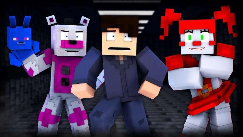 """Theyll Keep You Running"" - FNAF Minecraft Music Video (CK9C)"