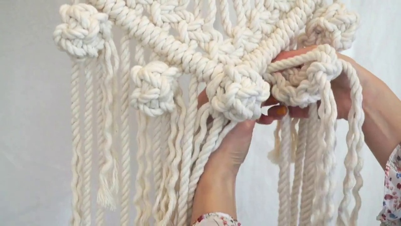 How to make 'Bubble knots' 모던 마크라메 스튜디오 라이프 어라이브 @Life a live