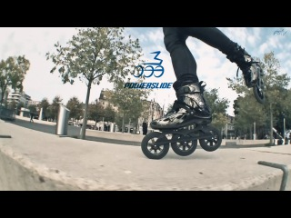 Lausanne Triblading - Powerslide Imperial Megacruiser Pro 125