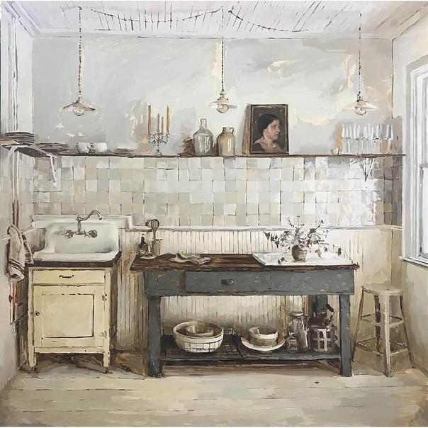 Современный художник Mary Sauer