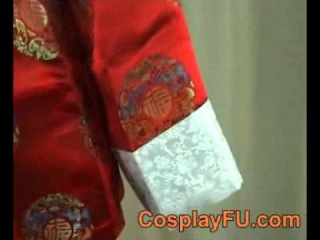 Cosplay Wang Yao Costume (China 2nd) for Axis Powers Hetalia.wmv
