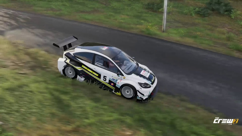 The Crew 2 (2018) | FWD Ford Focus RS (Mk2) Touring Racecar (Replay Video).