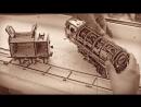 Тест-драйв поезда_локомотива от Ugears