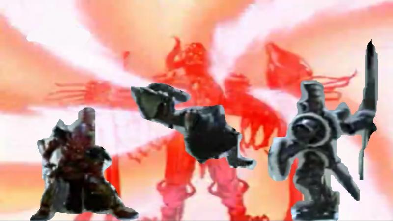 Bruce Lynch, Marco Marinangeu Chaka Blackmon — Power Rangers Mystic Force (Extended Version)