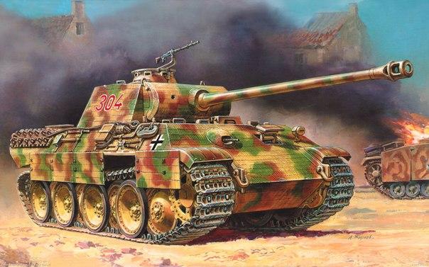 V Panther II на фото: