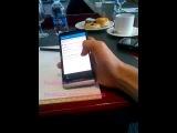 Первый 5-дюймовый смартфон BlackBerry запечатлен на видео