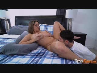 Ava Addams - Ava Fucks Her Stepson for Sniffing Her Panties [All Sex, Hardcore, Blowjob, Big Tits, Milf]