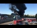 В Казани ликвидировали открытое горение емкостей с нефтепродуктами
