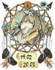 Индейский гороскоп - Волк с 19 февраля по 20 марта