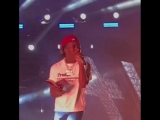 Uzi reading a bible while performing XO Tour LiF3