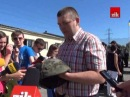 «Самооборона Львівщини» подарувала спецбатальйону «Львів» бойові шоломи